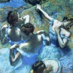 Blue Dancers, by Edgar Degas (1899)