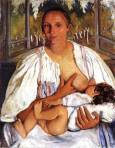 Nurse with child. (1912)