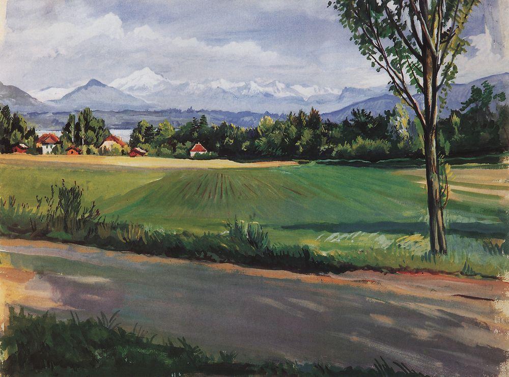 Zinaida Serebriakova S Nature Landscapes Art Of The Russias