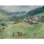 Les champs. (1928)