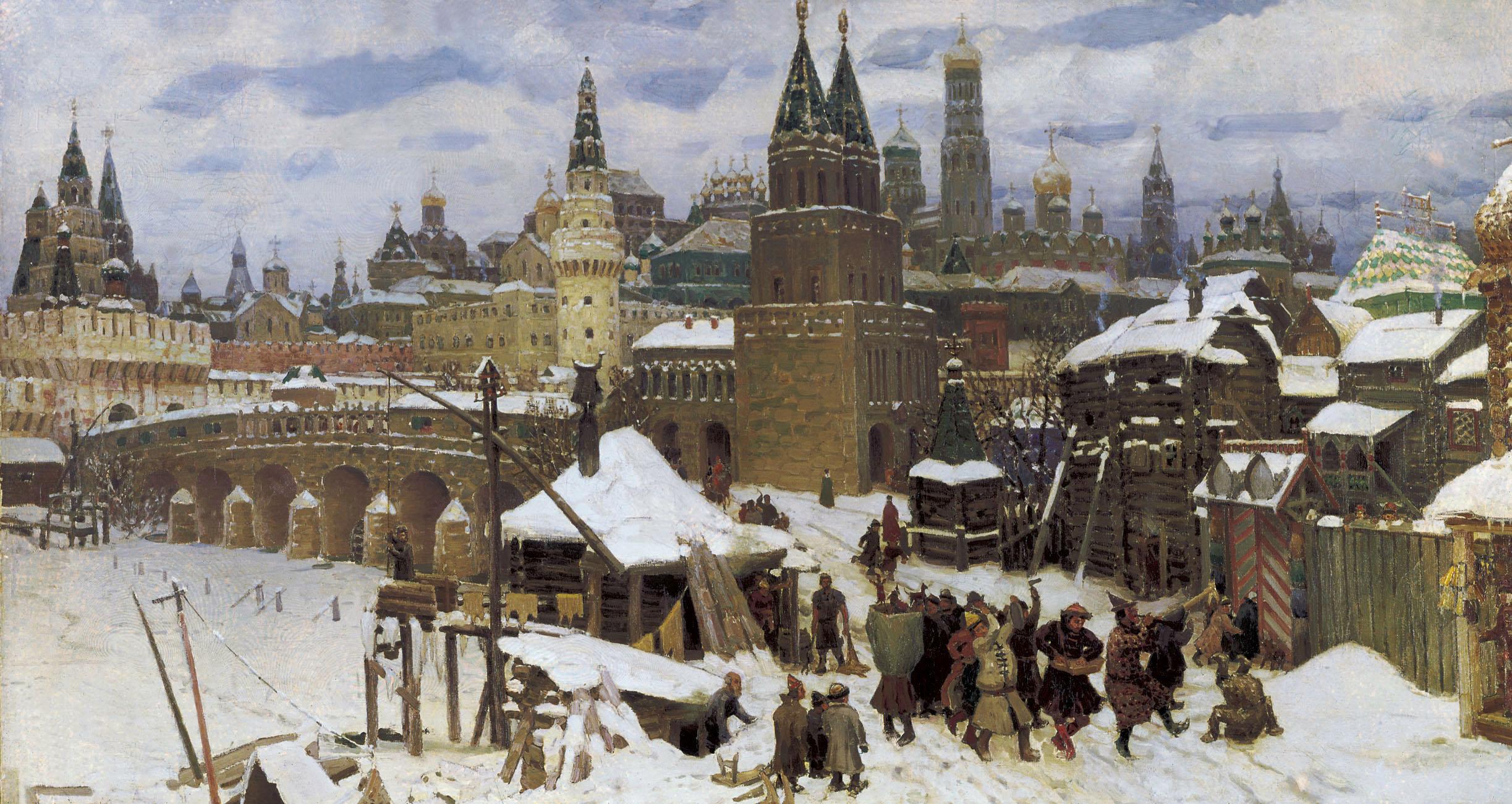 Various - Русская Зима