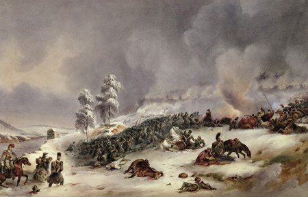 Battle of Krasnoy, by Jean-Antoine-Simeon Fort