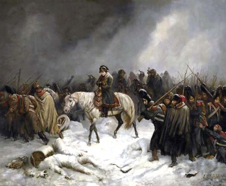 Retreat from Smolensk, by Adolph Northen.