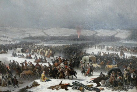 Grand Army upon the Berezina, by Januarius Sukhodolsky.