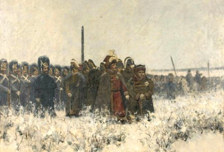 Crossing the Berezina, by Vasily Vereshchagin.