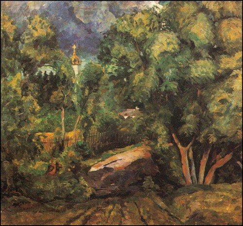 After the storm. (1923).