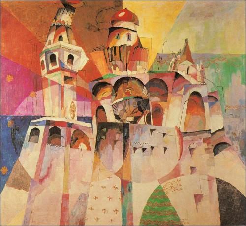 Ringing. (The Ivan the Great Belfry). (1915).