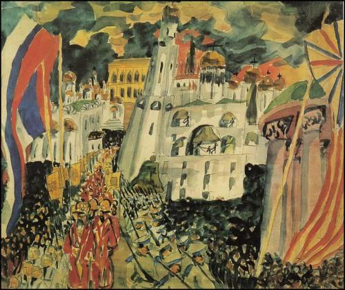 Procession. (1914).