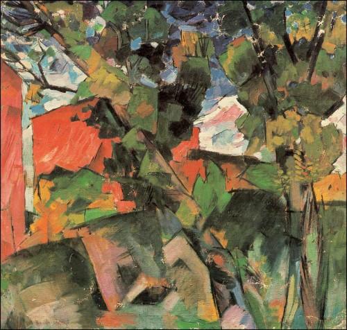 Landscape. (1918).