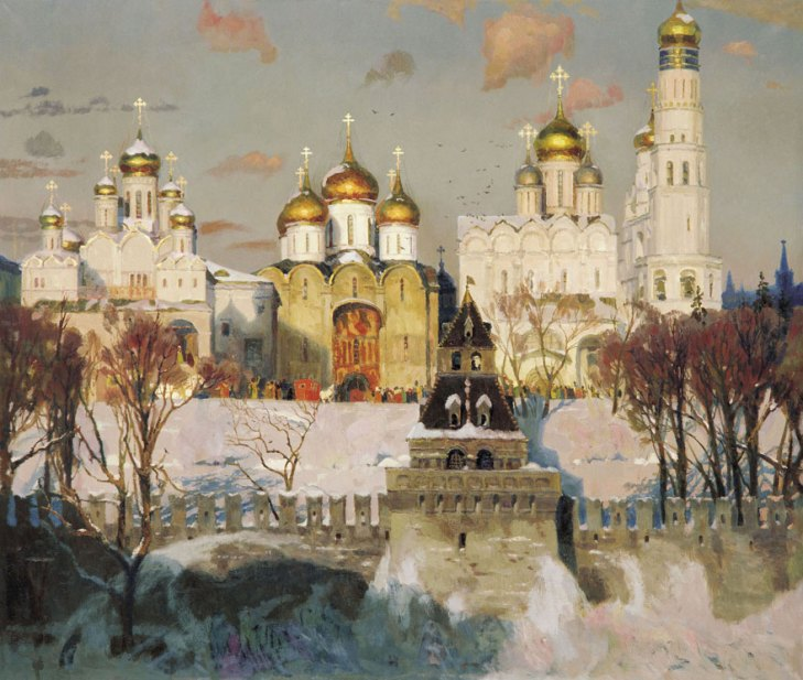 Heart of Russia, by Oksana Pavlova. (2002).