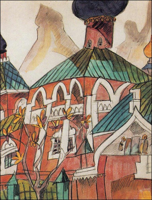Red church. (1916).