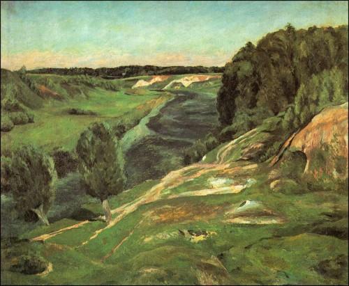 River Pakhra. (1923).