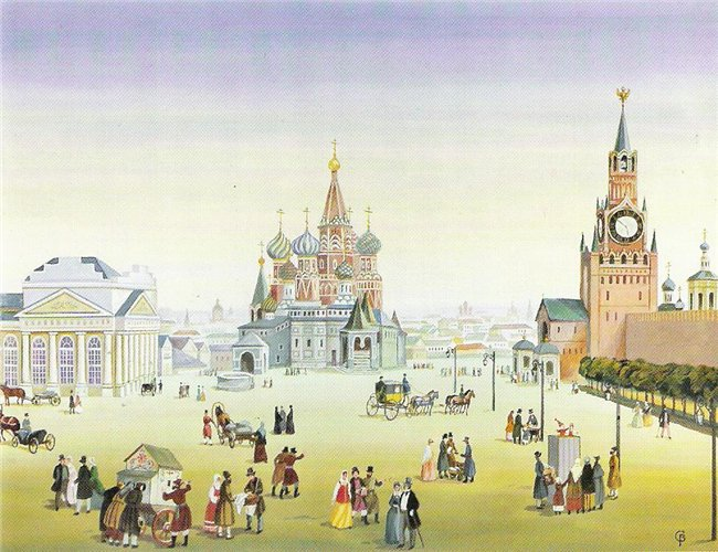 Red Square, by V. Semyonov.