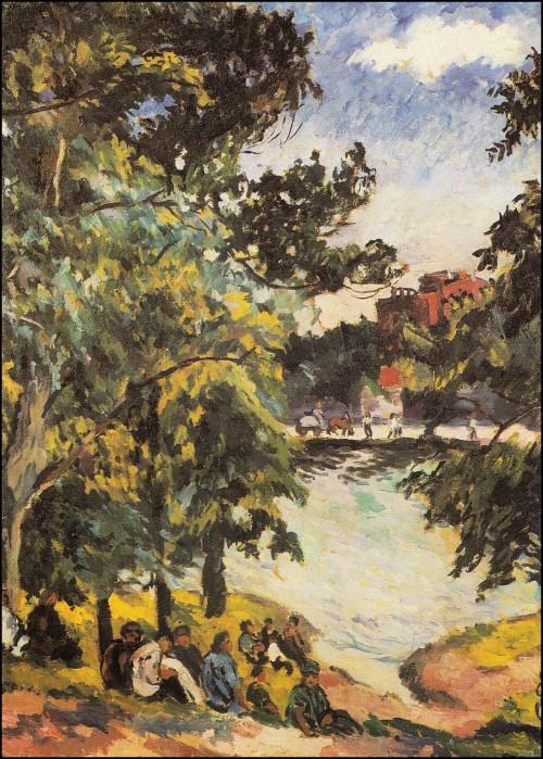 Summer landscape. (1925).