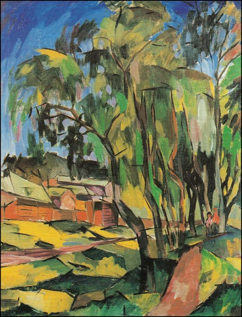 Trees in Klyazma. (1918).