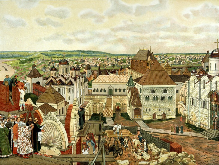 Kremlin, by Apollinary Vasnetsov.