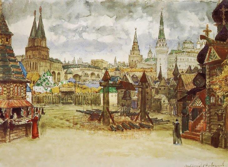 Kremlin, by Apollinary Vasnetsov.