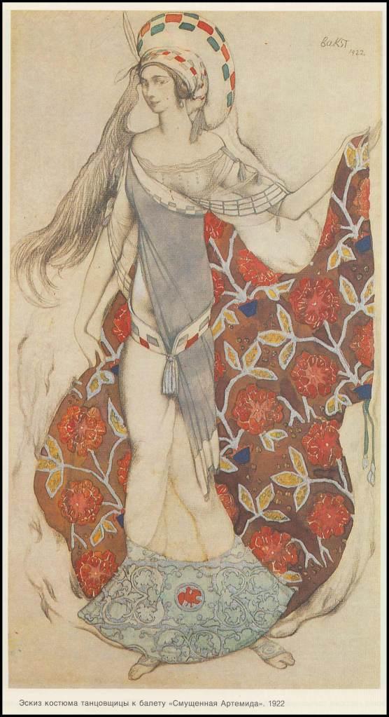 Artemis Dreaming. (1922).