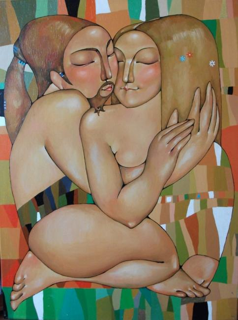 Kiss, by Akzhana Abdalliyeva. (2009).