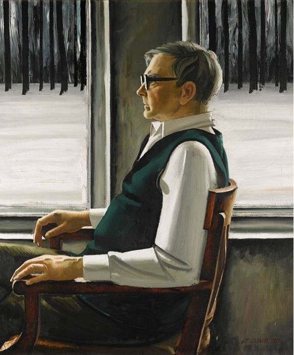 D. D. Shostakovich, by Tair Salakhov. (1987).