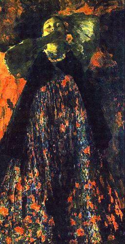 Peasant woman. (1903).