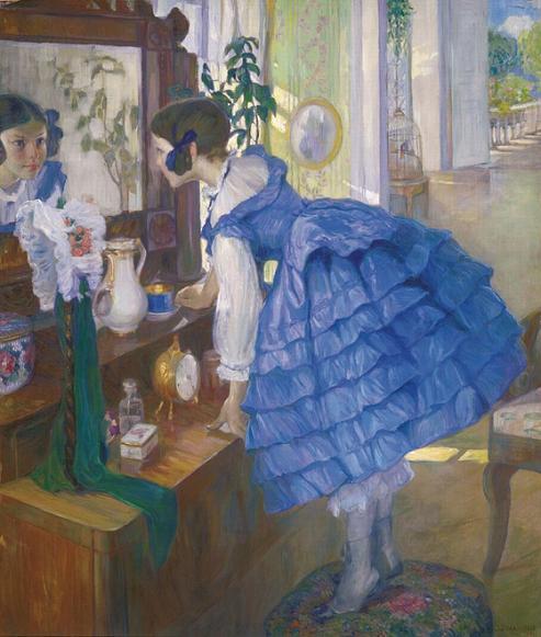 A Little Woman. (1910).