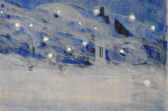 Sparks III, by Mikalojus Konstantinas Čiurlionis. (1906).