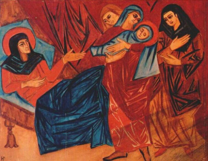 Nativity. (1910).