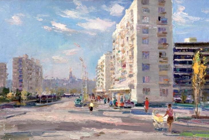Rusanovka, by Sergey Shishko. (1966).