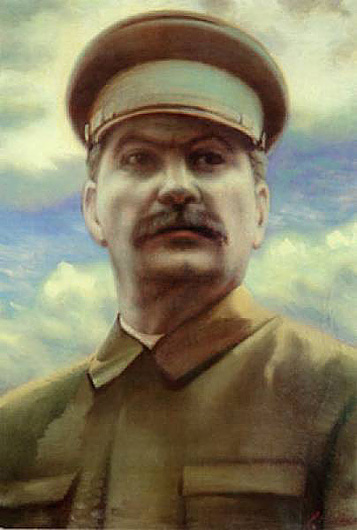 Portrait of Stalin. (1940).
