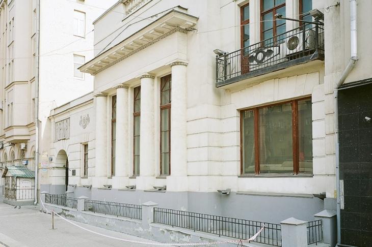 Fyodor Shekhtel's house.