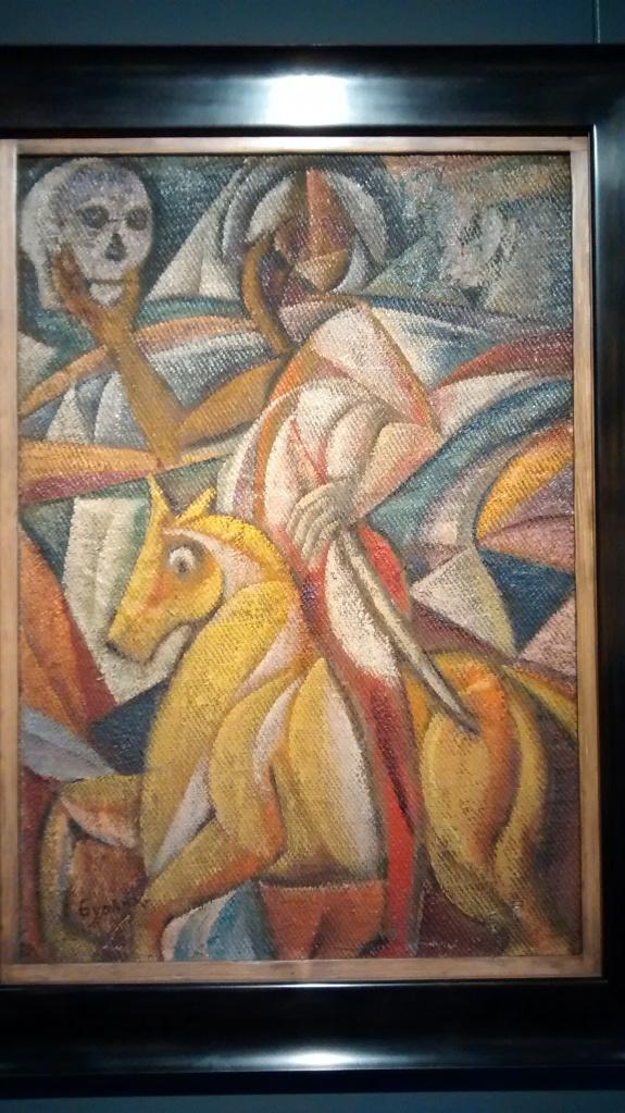 The Night Rider, by David Burliuk. (1911).