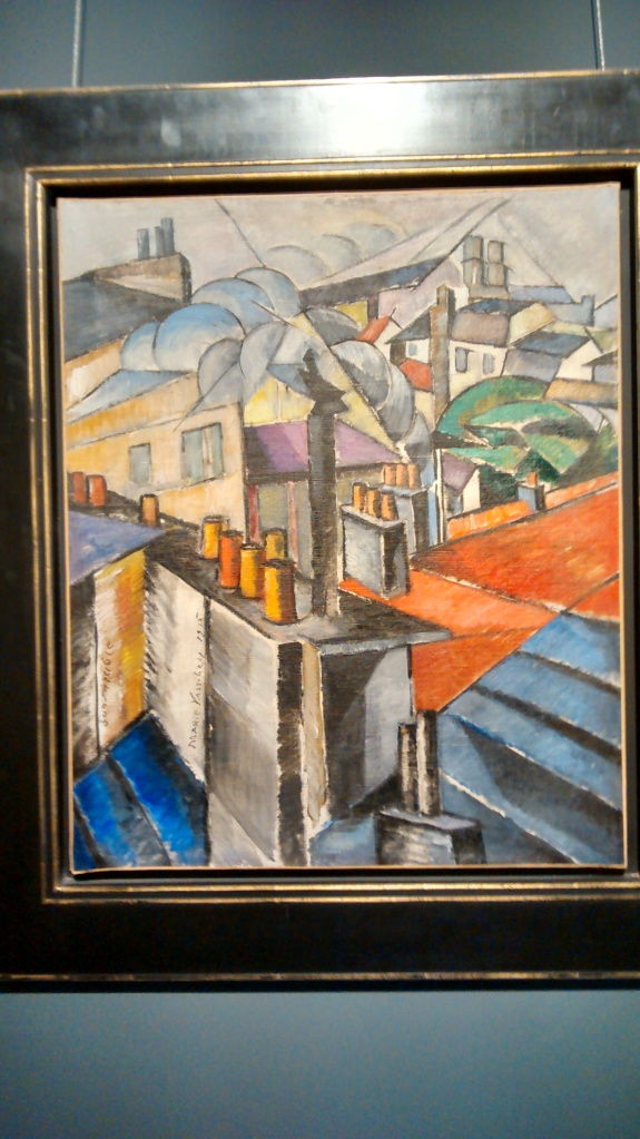 Rooftops, by Marie Vassilieff. (1915).