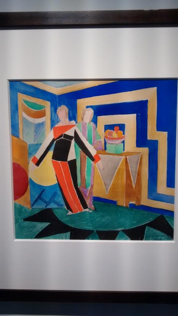 Women in interior, by Sonia Delaunay. (1923).