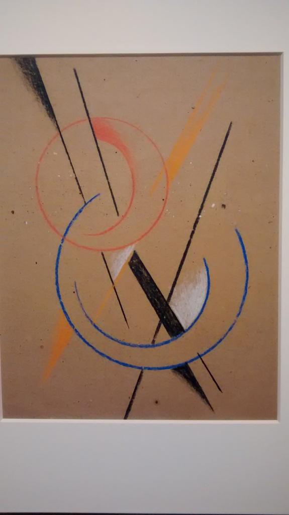 Spatial force construction, by Liubov Popova. (1921-22).
