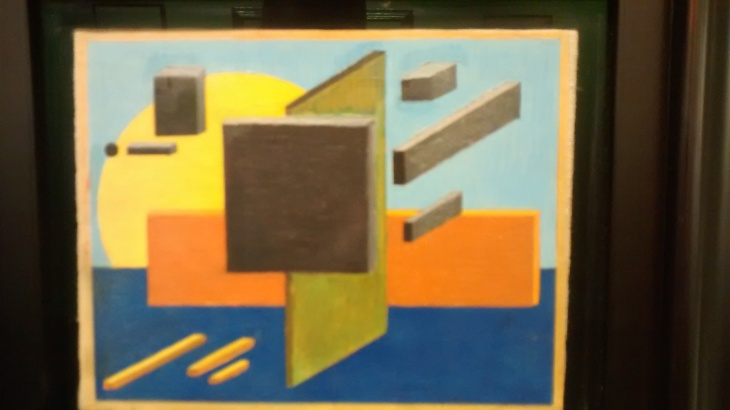 Architectonic Suprematism, by David Yakerson. (1920).