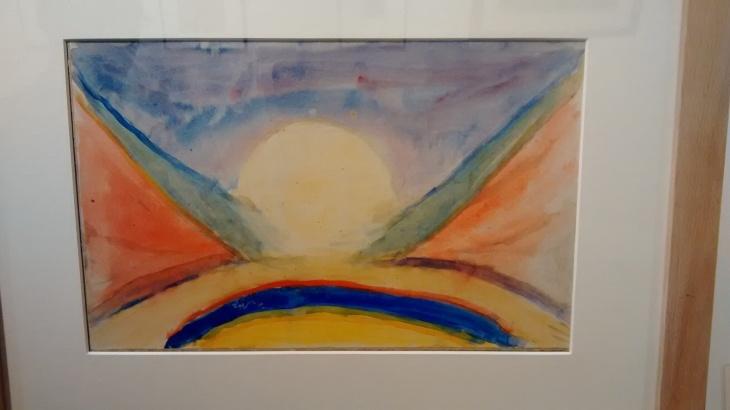 Sun, by Mikhail Matyushin. (1921).