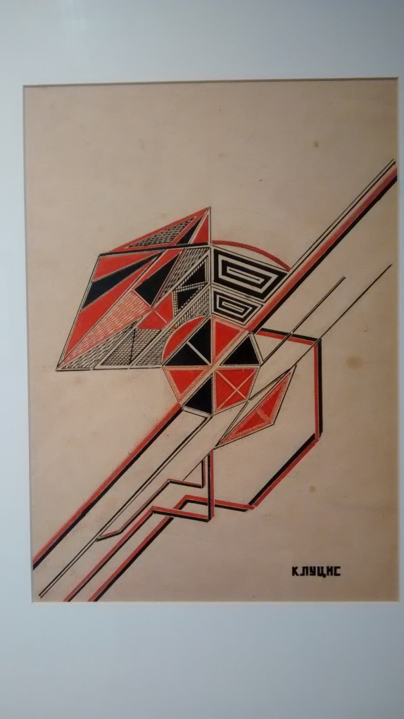 Design, by Gustav Klutsis. (1922).
