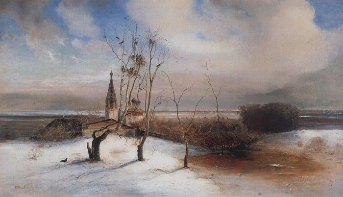 The Rooks Have Arrived, by Alexei Savrasov