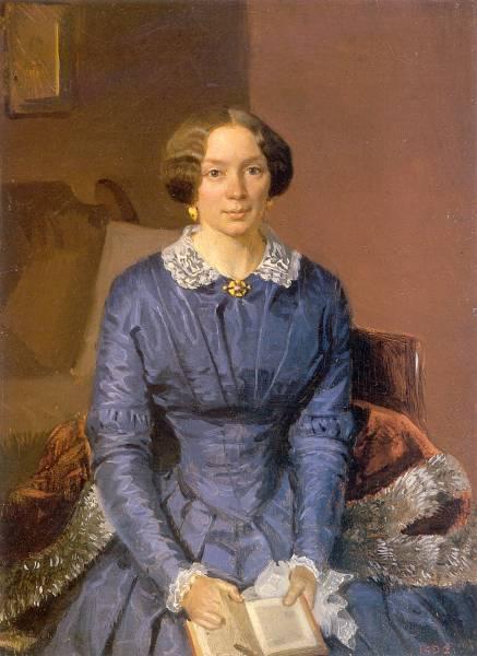 Portrait of Elizaveta Zhdanovich. (1846).