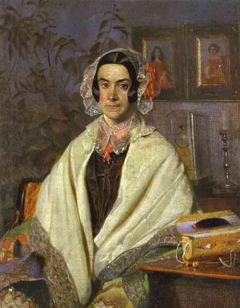 Olga Zhdanovich (Pyotr's wife).